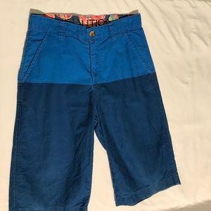 3/$30 Nautica Blue Shorts Boys 🧑🏻 Size 14 EUC